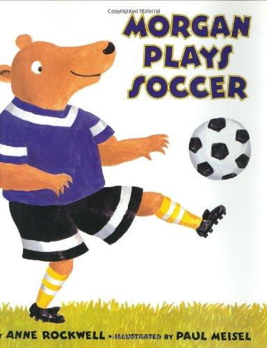 Morgan Plays Soccer
