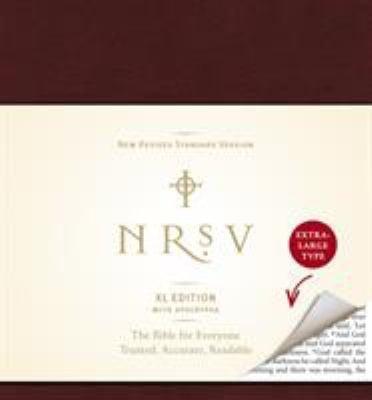 Xtra Large Print Bible-NRSV 9780061946523