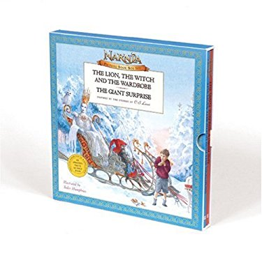 Narnia Picture Book Box Set: The Lion, the Witch and the Wardrobe/The Giant Surprise [With Collectible Map] 9780061125393