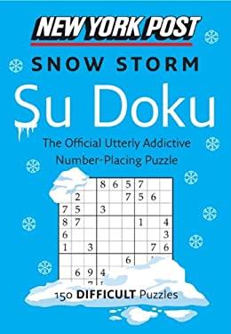 New York Post Snow Storm Su Doku (Difficult) 9780062213822