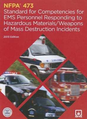 Nfpa 473: Standard for Competencies for EMS Personnel Responding to Hazardous Materials/Wwd Incidents