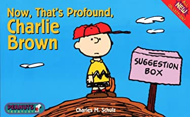 Now, That's Profound Charlie Brown