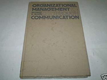 Organizational Management Through Communication