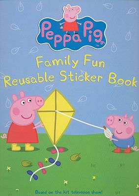 Peppa Pig: Family Fun Reusable Sticker Book