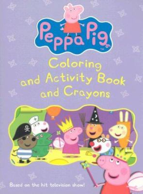Peppa Pig: Coloring and Activity Book and Crayons