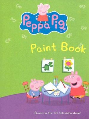 Peppa Pig: Paint Book