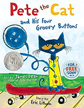 Pete the Cat and His Four Groovy Buttons 9780062110589