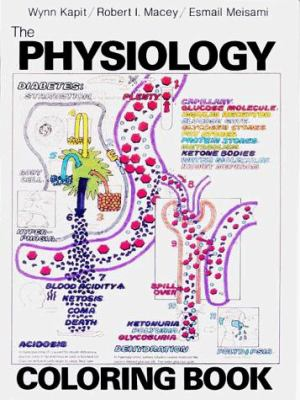 Physiology Coloring Book By Wynn Kapit Robert I Macey Keith S Karren