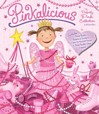 Pinkalicious: The Perfectly Pink Collection [With Books and Stickers and Posters and Crayons]
