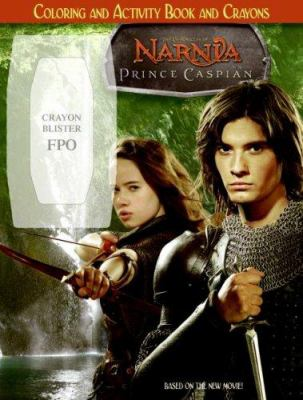 Prince Caspian: Coloring and Activity Book and Crayons [With Crayons]