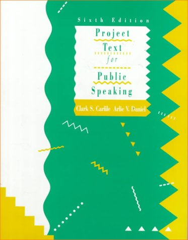 Project Text for Public Speaking