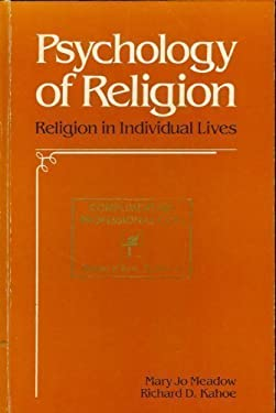 Psychology of Religion: Religion in Individual Lives