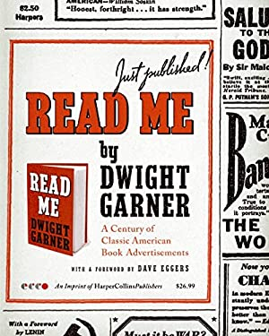 Read Me: A Century of Classic American Book Advertisements 9780061572197