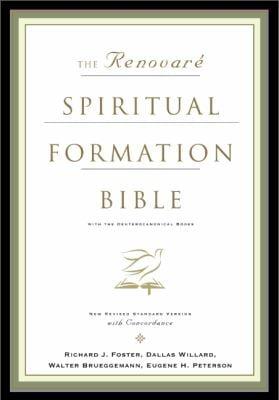 Renovare Spiritual Formation Bible-NRSV 9780060671068
