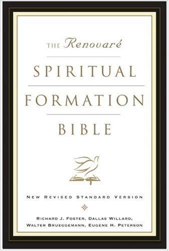 Renovare Spiritual Formation Study Bible-NRSV