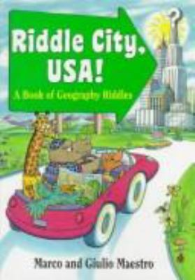 Riddle City, USA!: A Book of Geography Riddles