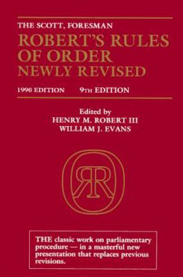 Robert's Rules of Order 9780062760517