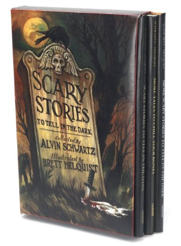 Scary Stories Box Set: Scary Stories, More Scary Stories, and Scary Stories 3 9780061980930
