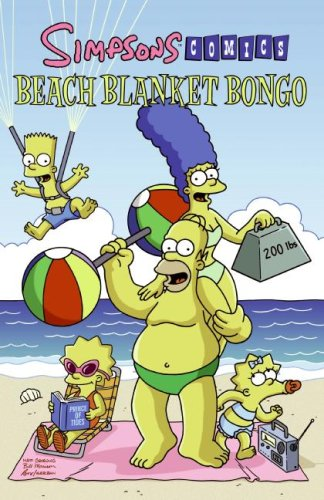 Simpsons Comics Beach Blanket Bongo 9780061231261