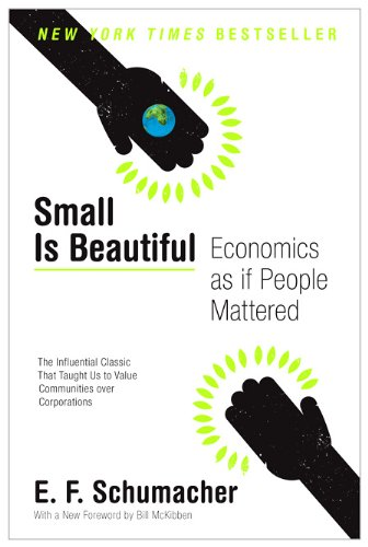 Small Is Beautiful: Economics as If People Mattered 9780061997761