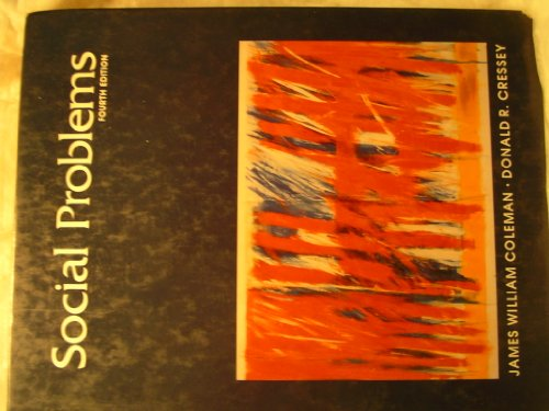 Social Problems - 4th Edition
