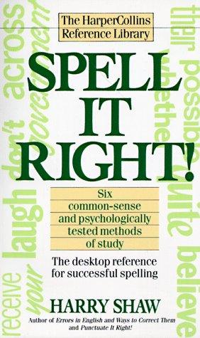 Spell It Right!