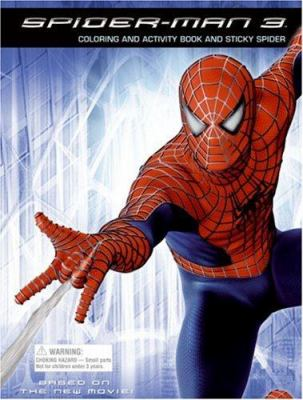 Spider-Man 3: Coloring and Activity Book and Sticky Spider