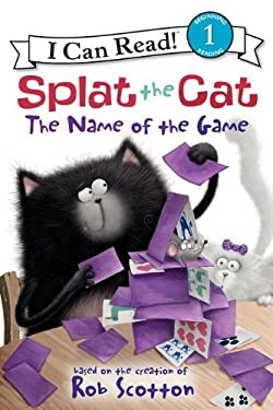 Splat the Cat: The Name of the Game 9780062090140
