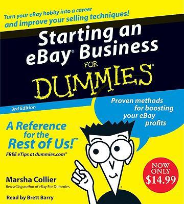 Starting an E-Bay Business for Dummies