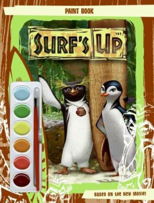 Surf's Up: Paint Book [With Paint Brush and Paint]