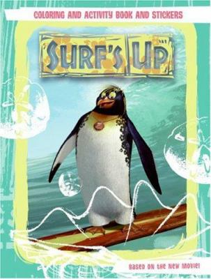 Surf's Up: Coloring and Activity Book and Stickers [With Stickers]