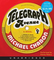 Telegraph Avenue Low Price CD: A Novel 9780062270917