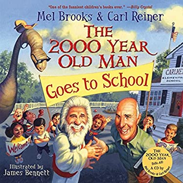 The 2000 Year Old Man Goes to School [With CD]