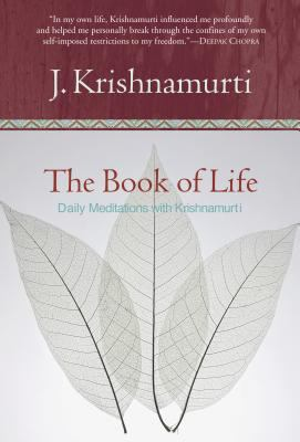 The Book of Life: Daily Meditations with Krishnamurti 9780060648794