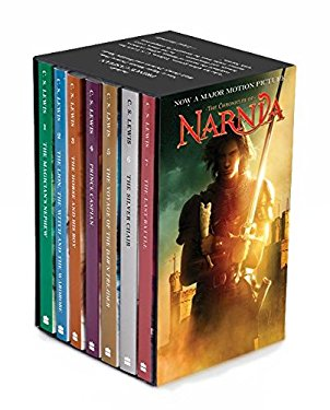 Chronicles of Narnia Movie Tie-In Rack Box Set Prince Caspian (Books 1 to 7), Th