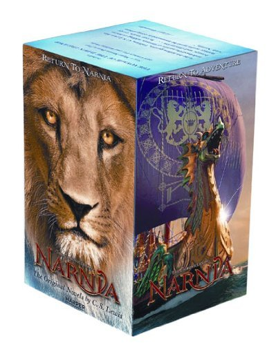 Chronicles of Narnia Movie Tie-In Box Set the Voyage of the Dawn Treader (Rack) 9780061992889