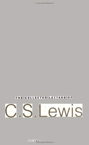The Collected Letters of C. S. Lewis: Volume 1: Family Letters 1905-1931 9780060727635