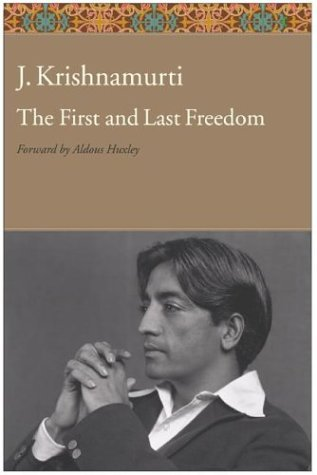 The First and Last Freedom 9780060648312