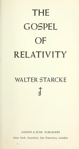 The Gospel of Relativity