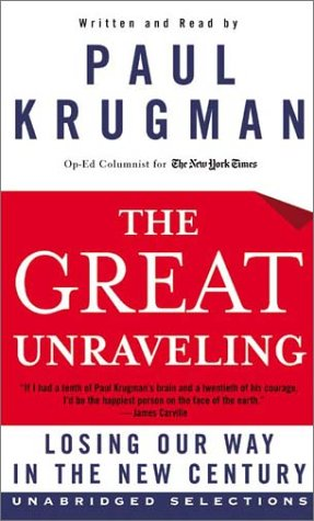 The Great Unraveling: The Great Unraveling 9780060581770