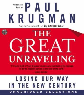The Great Unraveling CD: The Great Unraveling CD 9780060581787