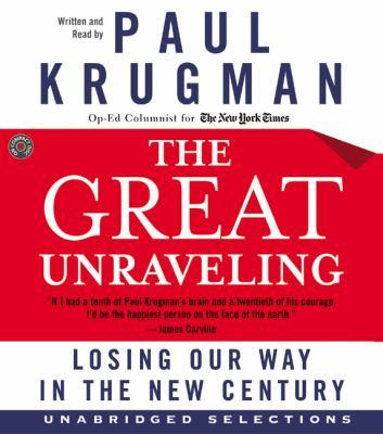 The Great Unraveling CD: The Great Unraveling CD