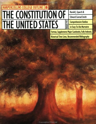 The HarperCollins College Outline Constitution of the United States 9780064671057