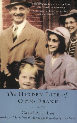 The Hidden Life of Otto Frank 9780060520830