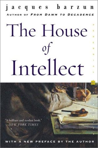 The House of Intellect 9780060102302