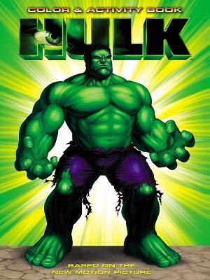 The Hulk: The Hulk Color & Activity Book