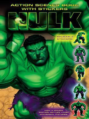 The Hulk: Action Scenes Book with Stickers