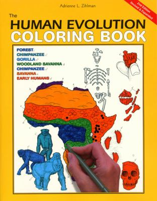 The Human Evolution Coloring Book, 2e