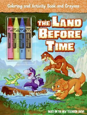 The Land Before Time Coloring and Activity Book and Crayons [With 3 Crayons]