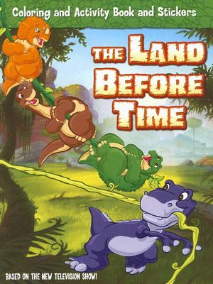 The Land Before Time: Coloring and Activity Book and Stickers